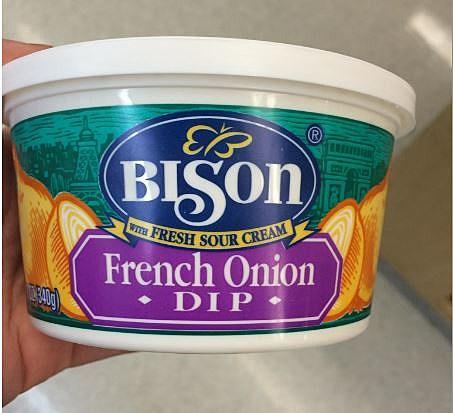 Bison brand chip dip