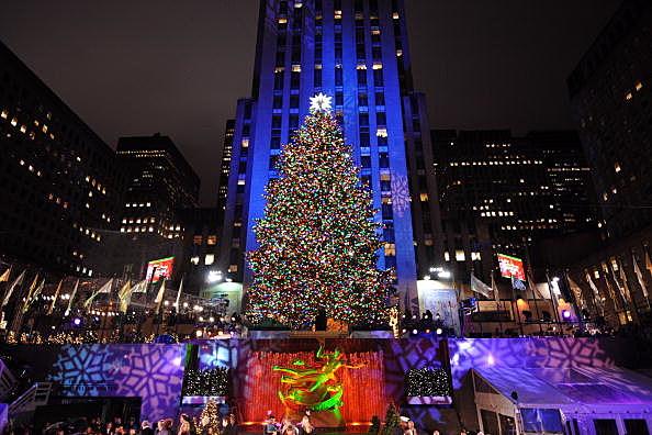 Rockefeller Center Christmas Tree Lighting 2013