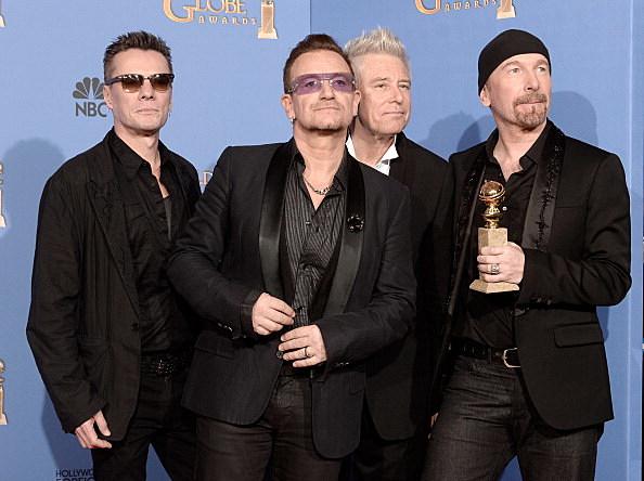 U2's new song at the Super Bowl.