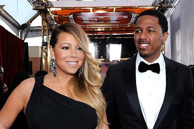 Mariah Carey and Nick Canon.