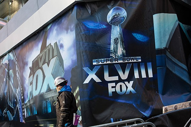 New York City Prepares For Super Bowl XLVIII