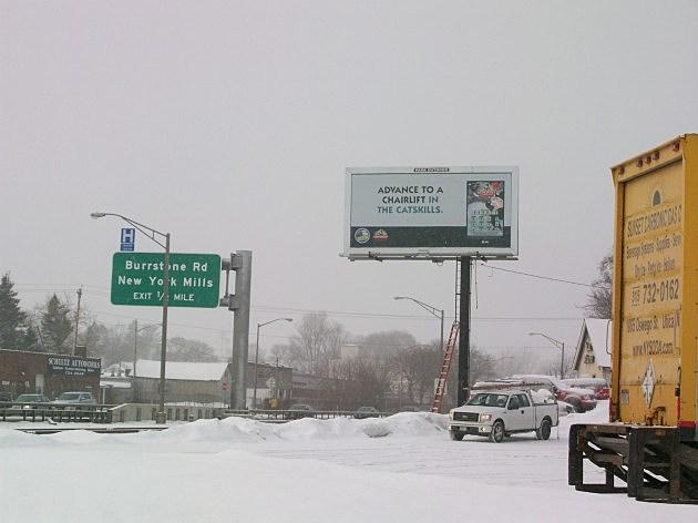 NY Lottery Monopoly Billboard