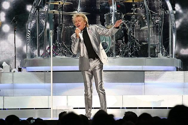 Rod Stewart In Concert - New York, NY