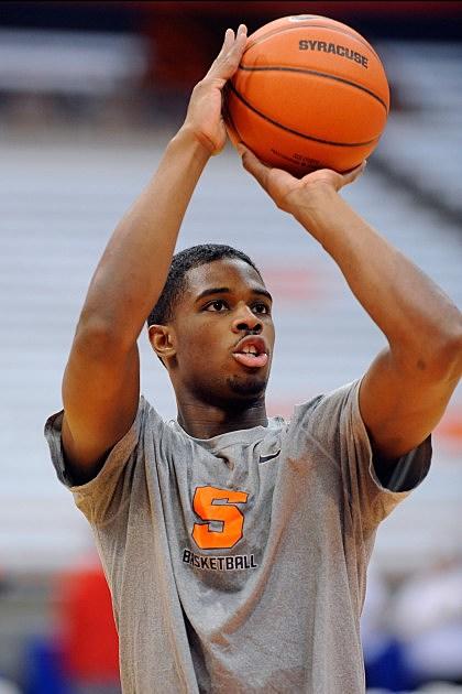 C.J. Fair #5 of the Syracuse Orange