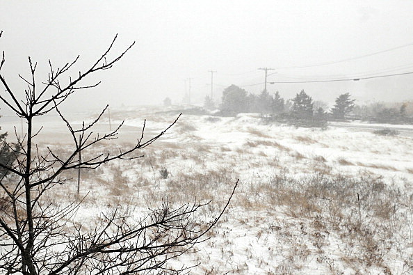 Massive Spring Snowstorm