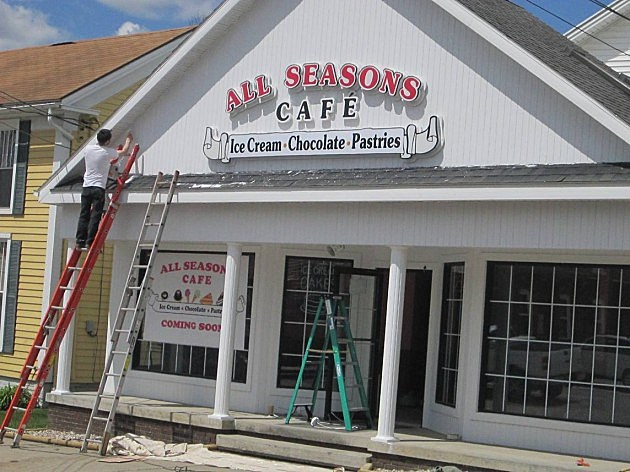 all seasons cafe clinton