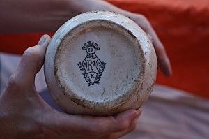 Mid-1800's Ceramic Vessel Kite Mark
