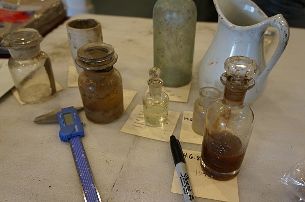 1800's Artifacts and Medicines Recovered From The W