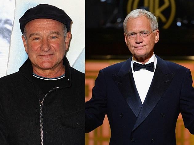 David Letterman & Robin Williams
