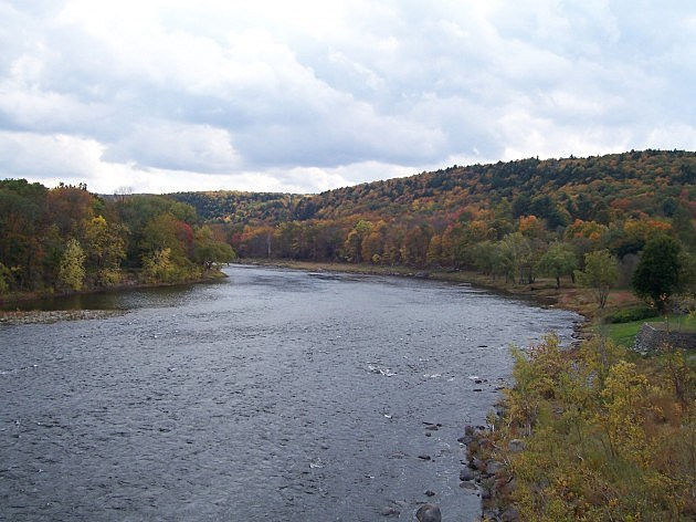 Delaware River From the Roebling Aqueduct