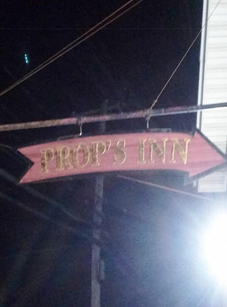 Prop's Inn Sign