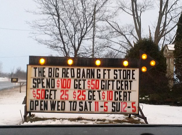 Red Barn Gift Store