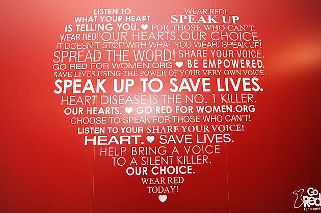 Go Red for Women Heart