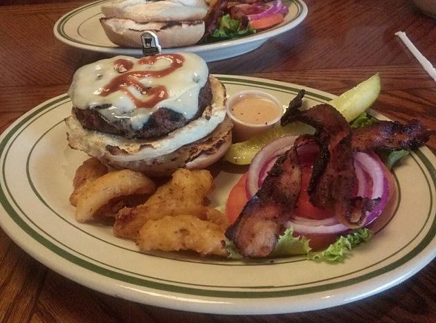 Boilermaker Burger From Carmella's Cafe