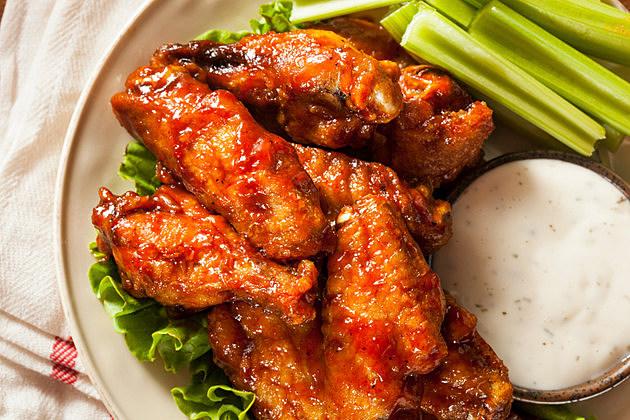 Barbecue Buffalo Chicken Wings