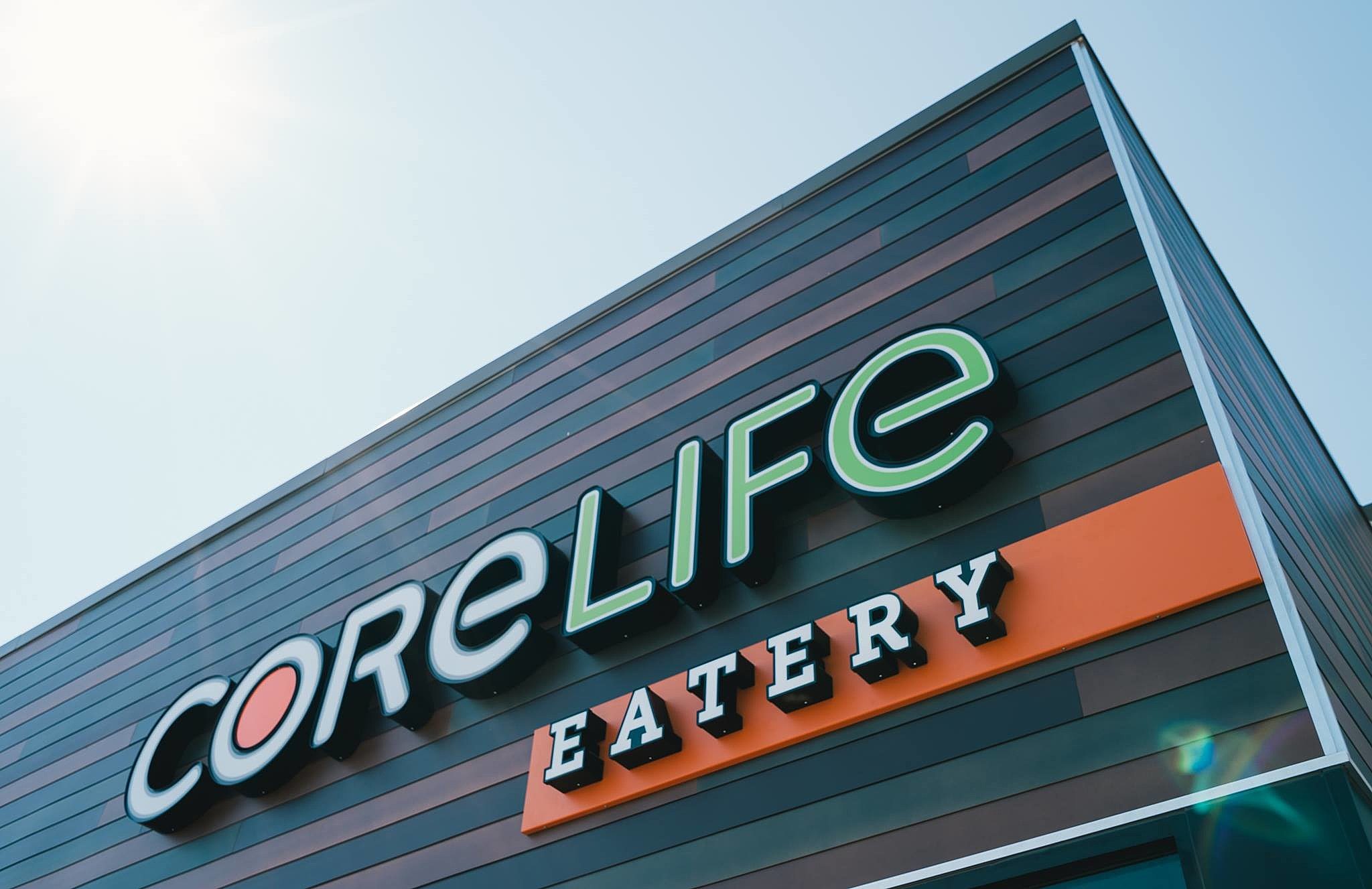 CoreLife Eatery Sign