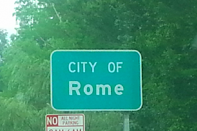 City of Rome Sign