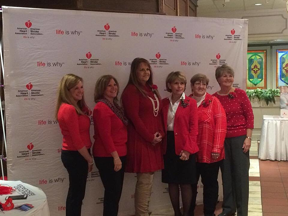 The Go Red for Women Survivor Class for 2017