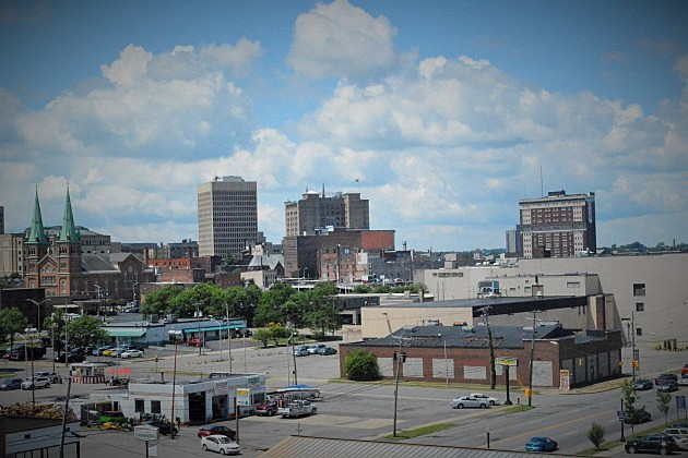 Looking at Utica From Bagg's Square