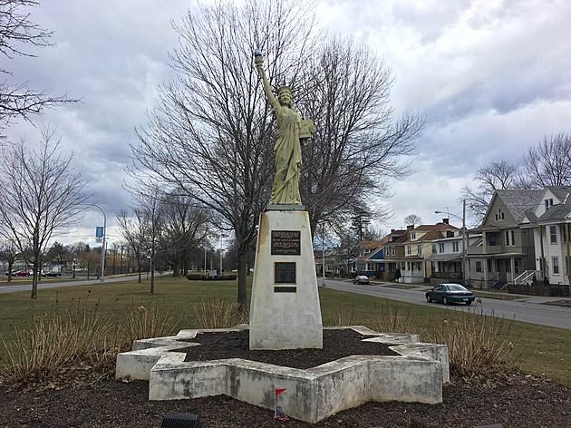 Utica's Statue of Liberty