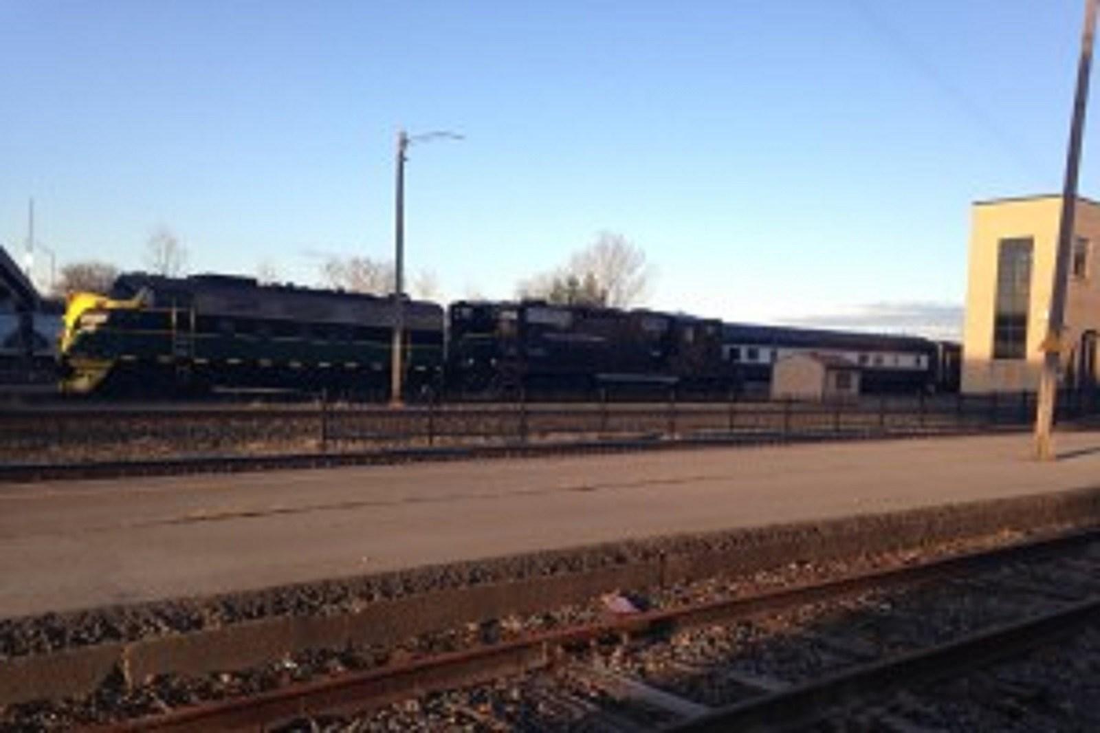 Adirondack Scenic Railroad Train at Union Station