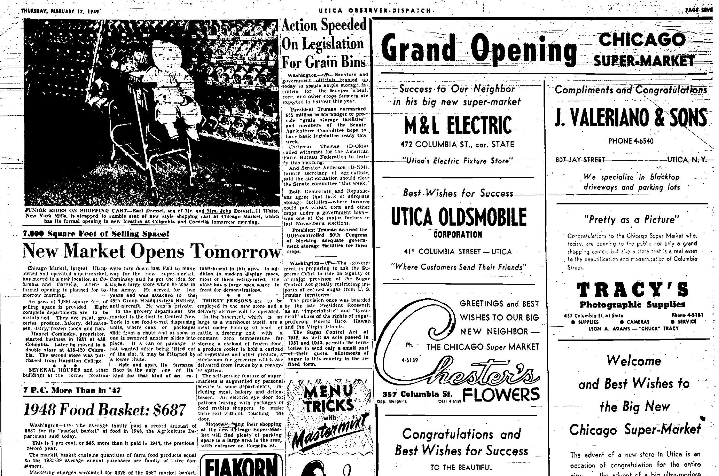 Utica-NY-Observer_1949-Chicago-Market
