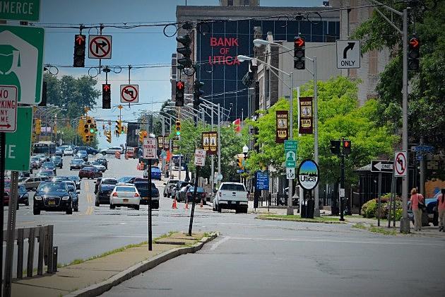 Picture of Utica, Looking Down Genesee Street