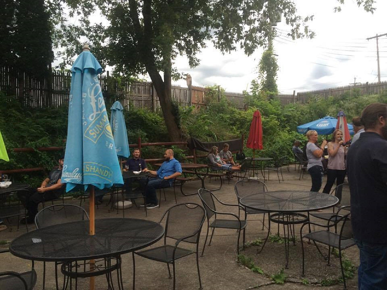Outside Patio Area of the Black River Ale House