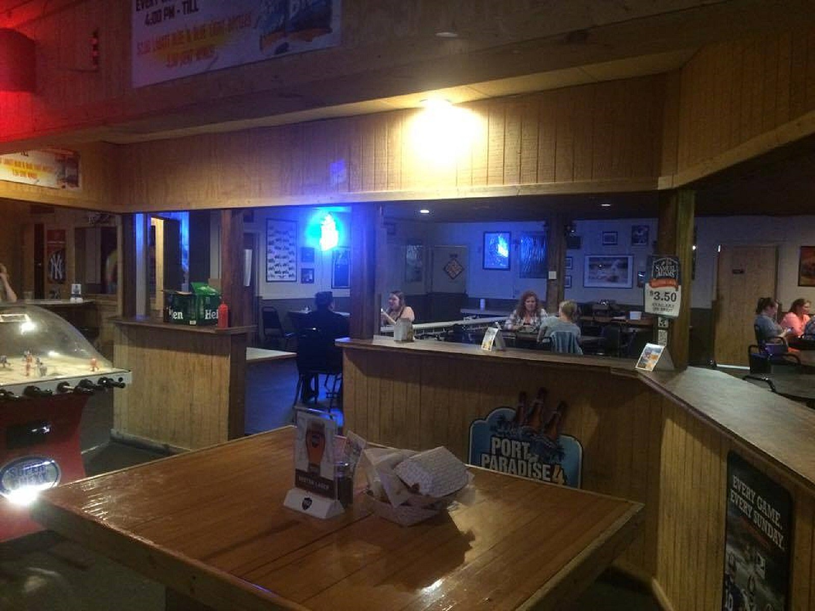Another View Inside the Black River Ale House