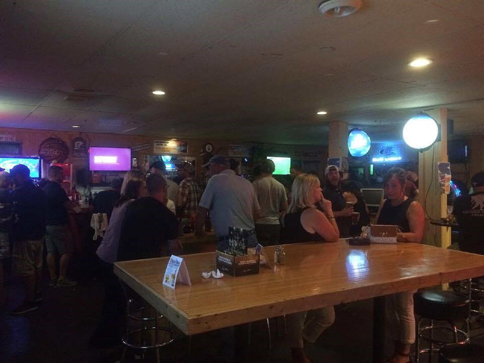 View of the Bar Area at Black River Ale House