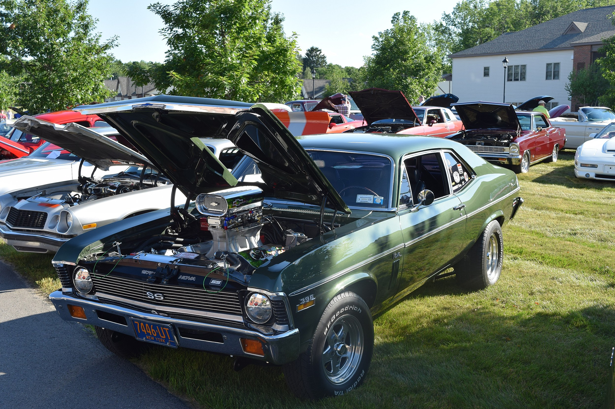 Classic Cars On Display In New Hartford - Muscle car shows near me