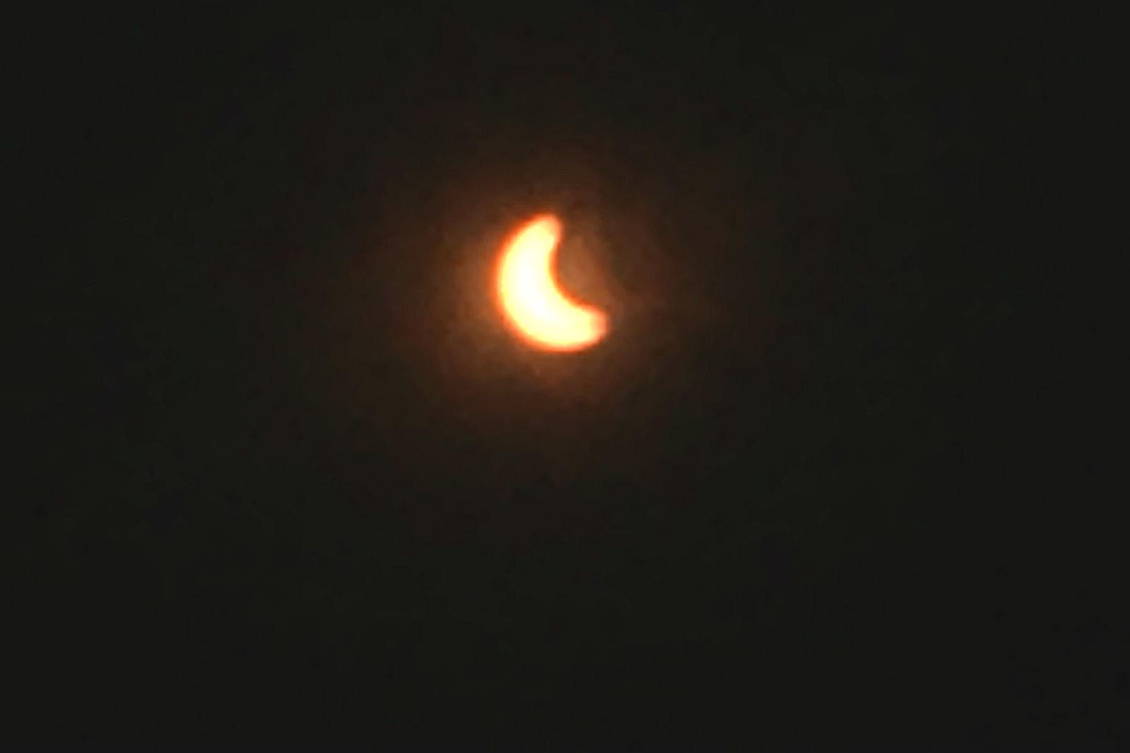 Eclipse from Marcy, NY