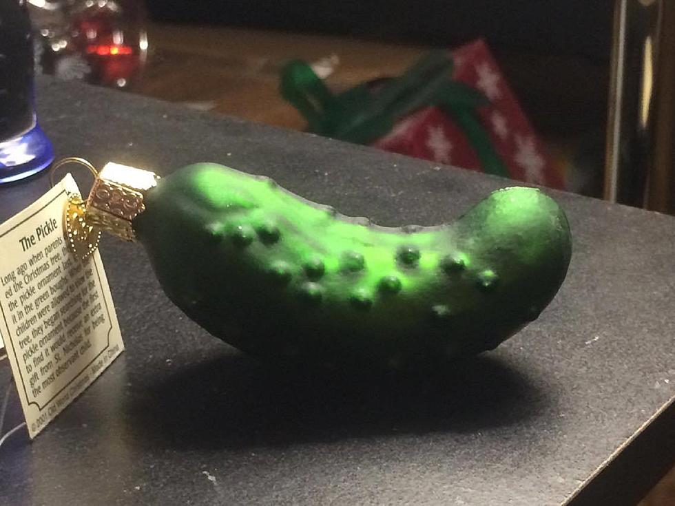 poll do you have a pickle ornament on your christmas tree - Pickle On Christmas Tree